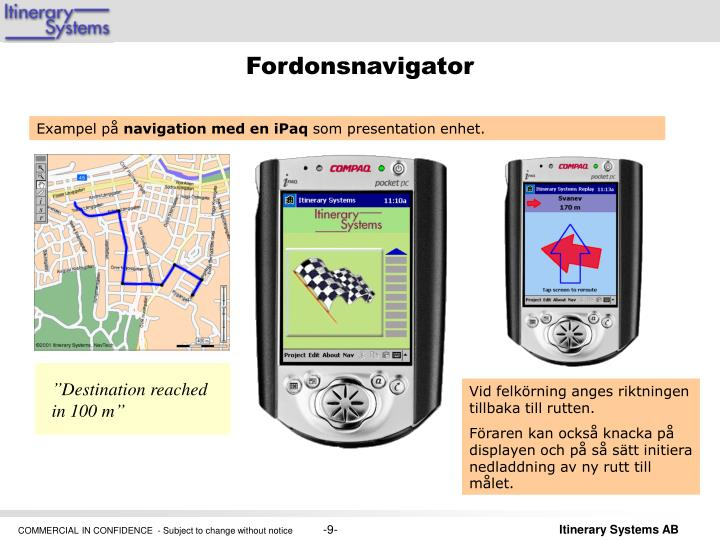 Fordonsnavigator