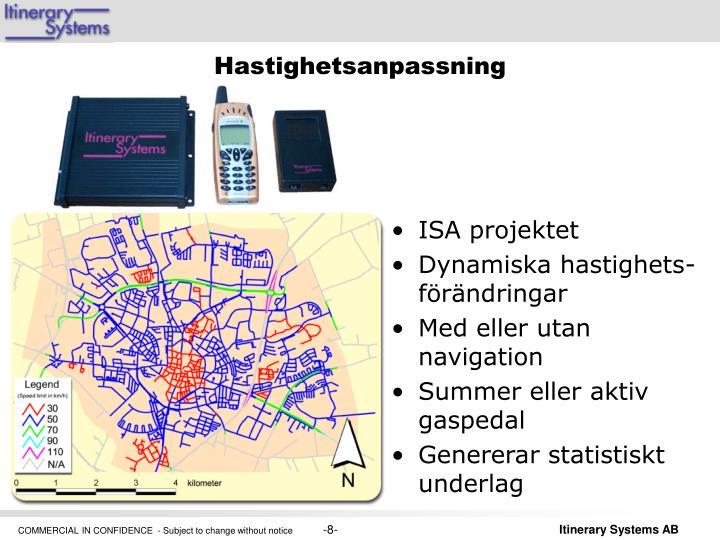 ISA projektet