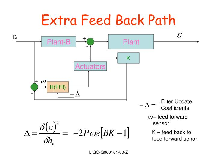 Extra Feed Back Path