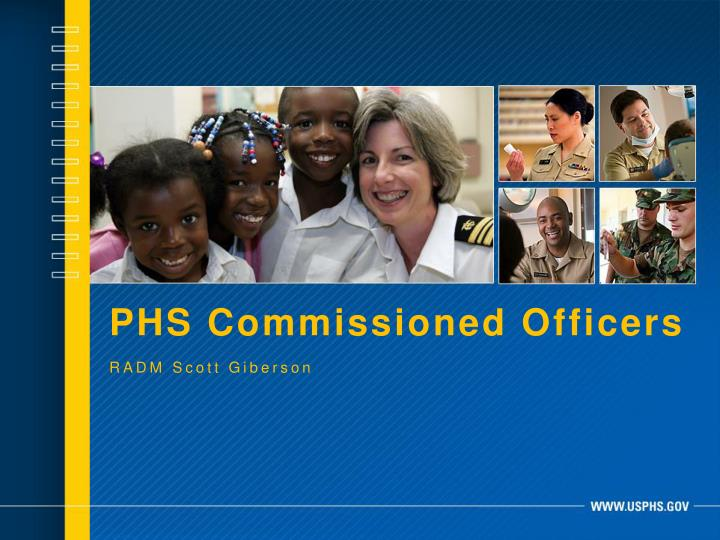PHS Commissioned Officers