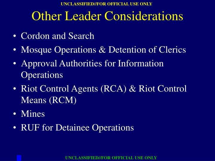 Cordon and Search