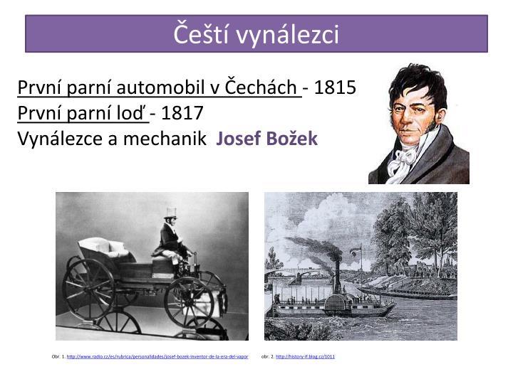 Čeští vynálezci
