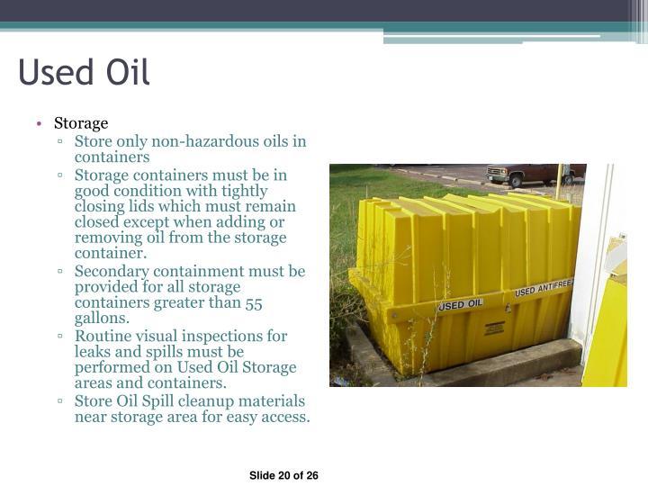 Used Oil