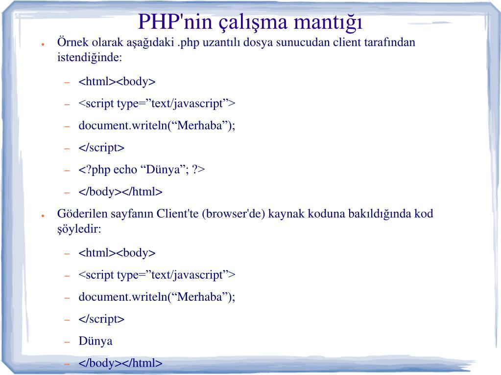 Randevú szkriptek php