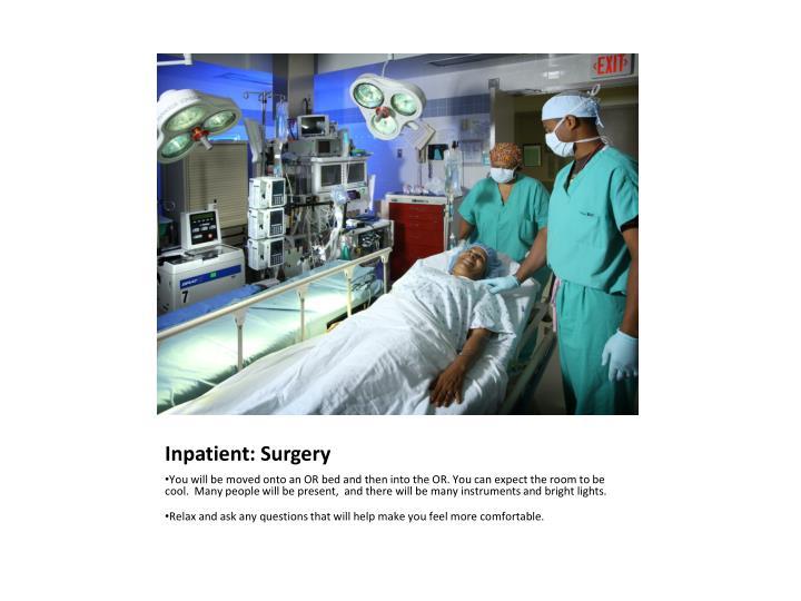 Inpatient: Surgery