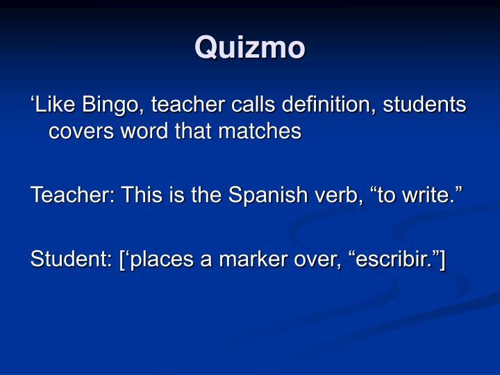 Quizmo