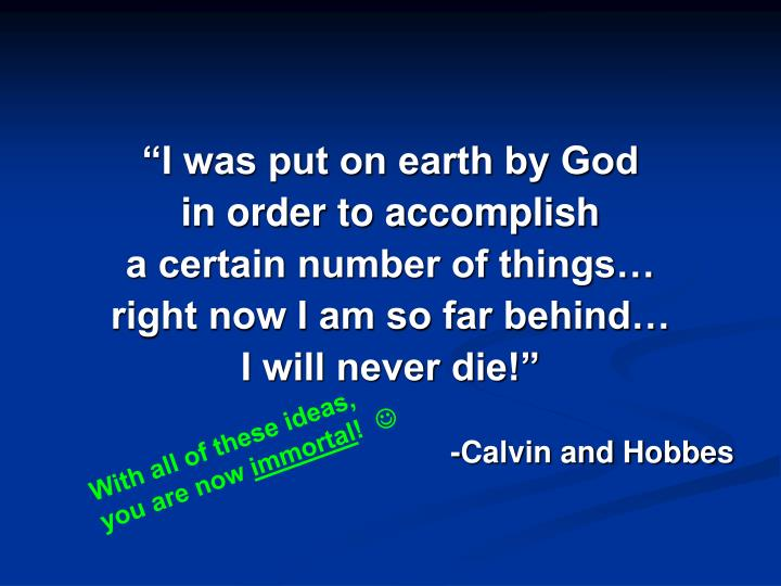"""""""I was put on earth by God"""