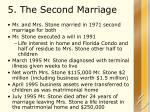 5 the second marriage