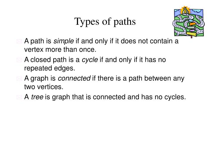 Types of paths