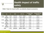 health impact of traffic safety2