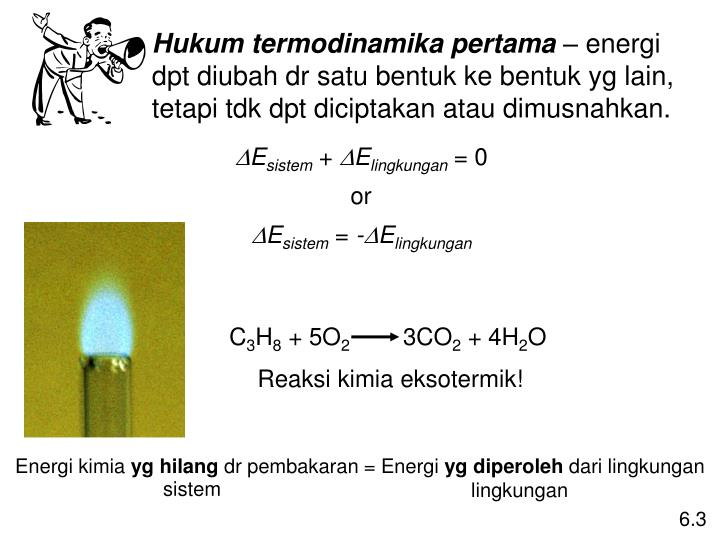 Hukum termodinamika pertama