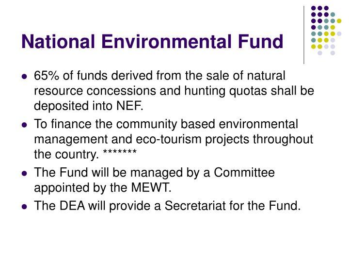 National Environmental Fund