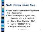 mode operasi cipher blok
