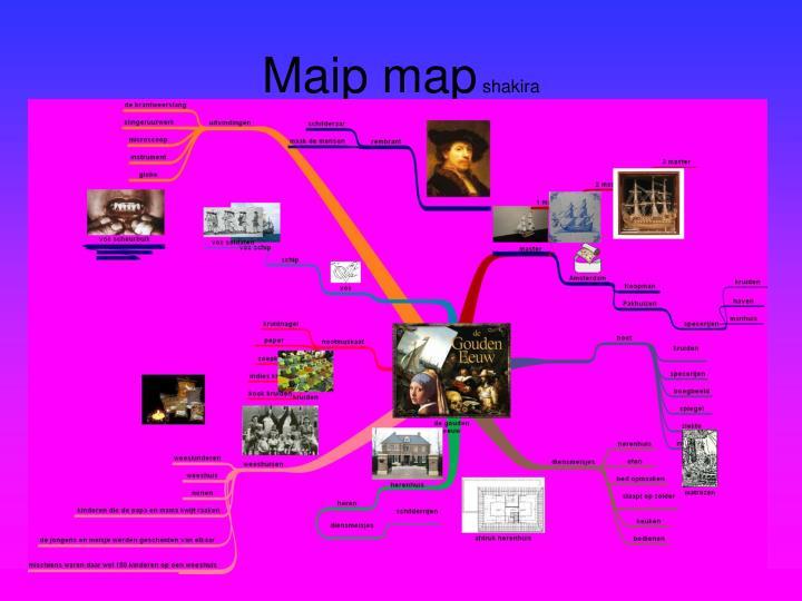 Maip map shakira