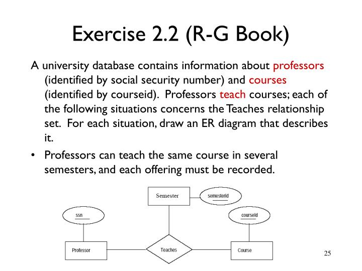Exercise 2.2 (R-G Book)