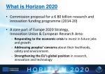 what is horizon 2020