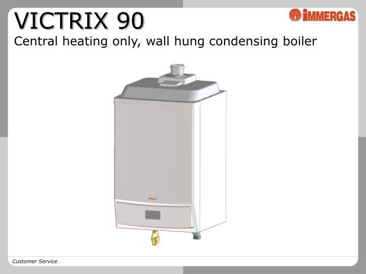 Ppt - Victrix 90 Central Heating Only  Wall Hung Condensing Boiler Powerpoint Presentation