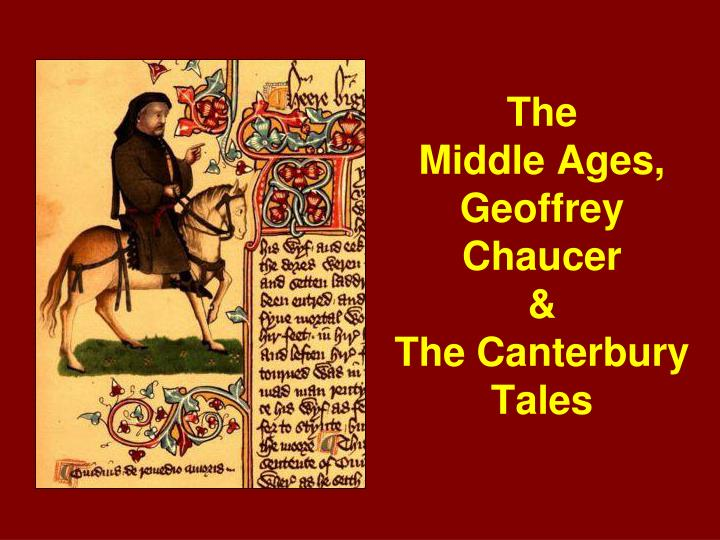 the corruption in the church in the medieval period as depicted in the canterbury tales by geoffrey  Geoffrey chaucer the canterbury tales depicted in the certainly his fellow clergy and religious officers belong to a church riddled with gross corruption.