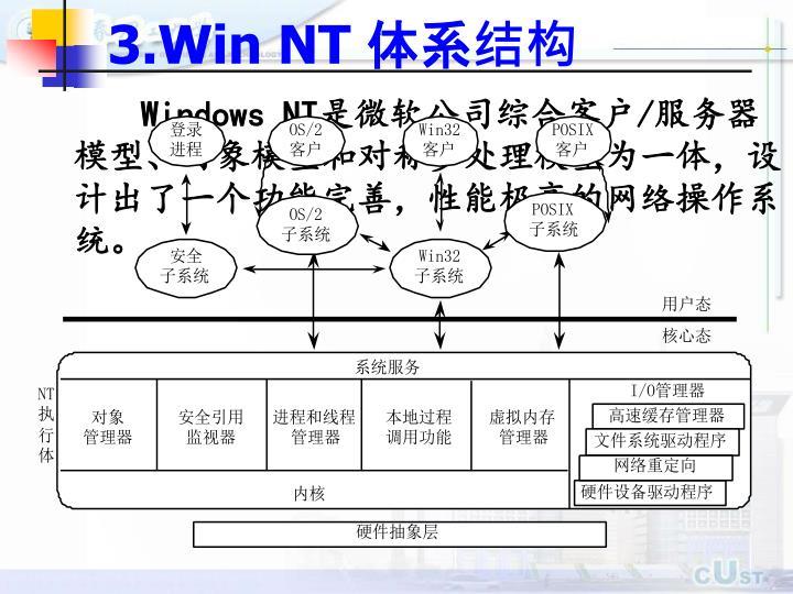 3.Win NT