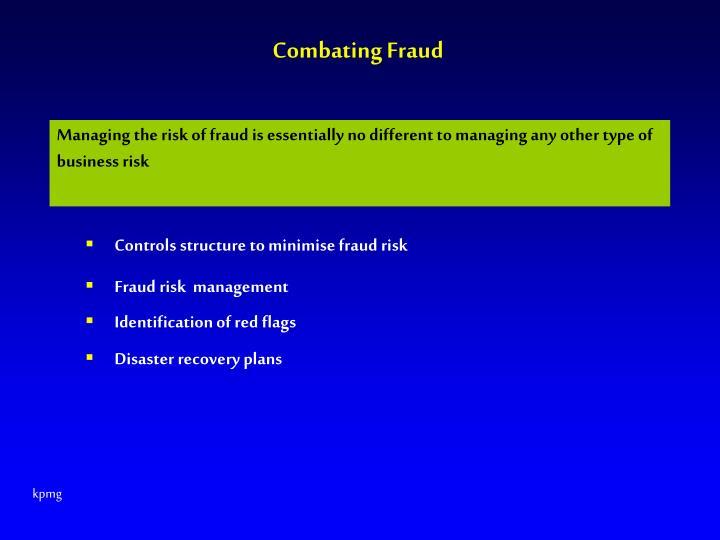 Combating Fraud