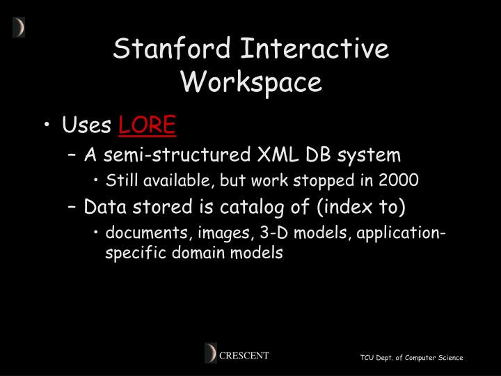 Stanford Interactive Workspace
