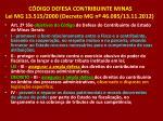 c digo defesa contribuinte minas lei mg 13 515 2000 decreto mg n 46 085 13 11 2012