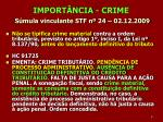import ncia crime s mula vinculante stf n 24 02 12 2009