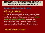 import ncia e necessidade dos tribunais administrativos