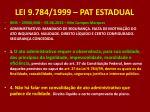 lei 9 784 1999 pat estadual