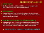 proporcionalidade
