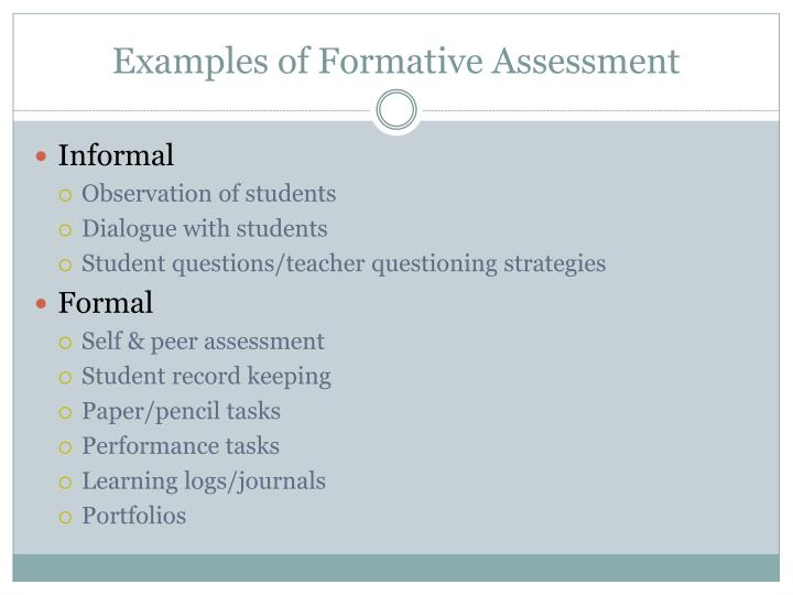 research papers formative assessment Formative and summative tiara hutt mte/562 december 21, 2013 tangela hadley formative and summative formative assessment is a way teachers formally or informally assess the learning process going on in their classroom to help them modify their teaching strategies to improve student learning.
