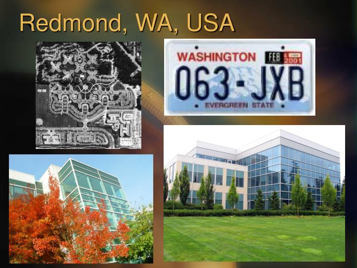 Redmond, WA, USA