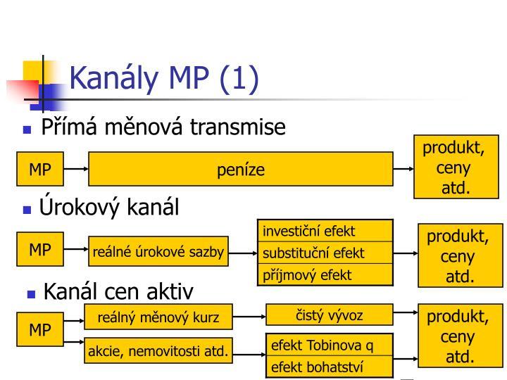 Kanály MP (1)