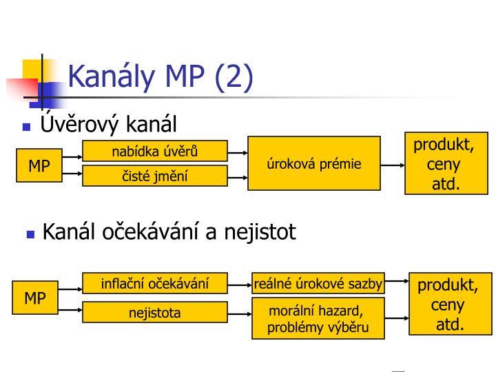 Kanály MP (2)