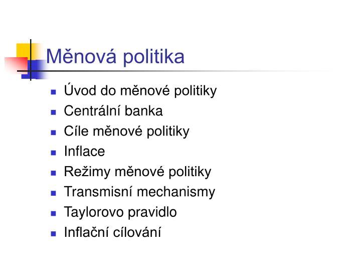 M nov politika