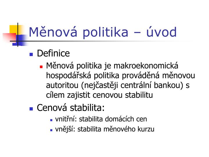 M nov politika vod