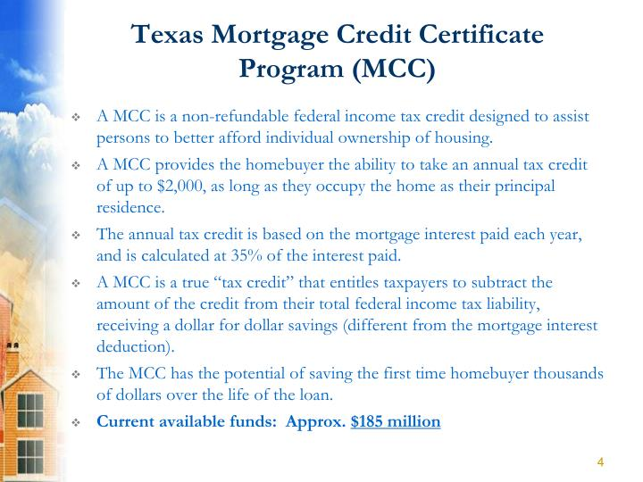 Mortgage Loan For Low Income