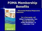 foma membership benefits1