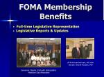 foma membership benefits5