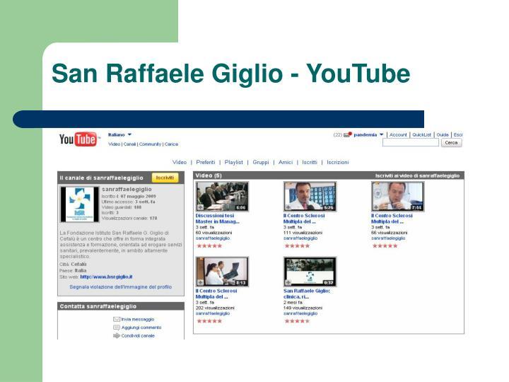 San Raffaele Giglio - YouTube
