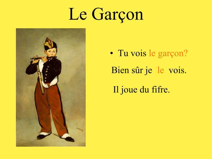 Le Garçon