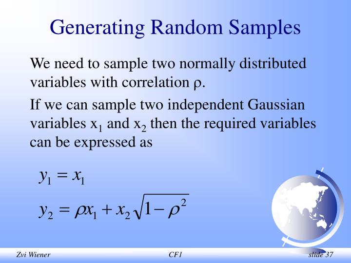 Generating Random Samples