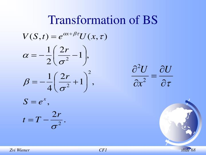 Transformation of BS