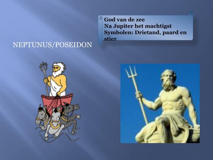 God van de zee