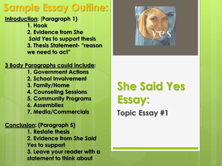 outline of a thesis paragraph A typical essay format starts with an introduction, goes to body paragraph 1, body paragraph 2, body paragraph 3, and sums things up with a conclusion each body paragraph serves a specific purpose, and the essay is in the form of a keyhole.