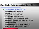 case study fatal accident at kaiga 3 41