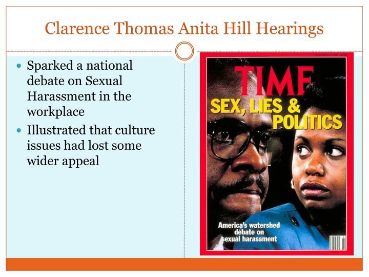 Clarence Thomas Anita Hill Hearings