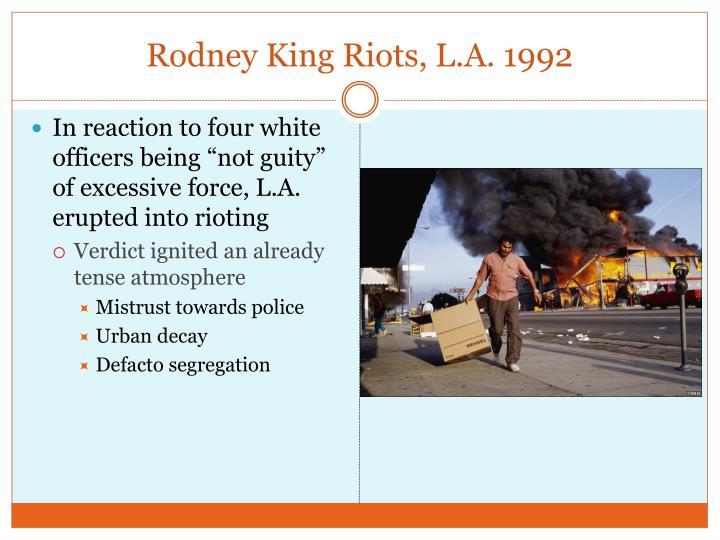 Rodney King Riots, L.A. 1992