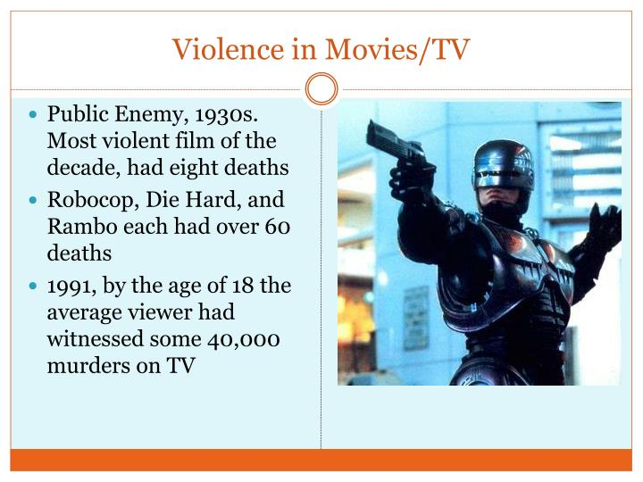 Violence in Movies/TV