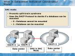 what is datacenter activation coordination mode